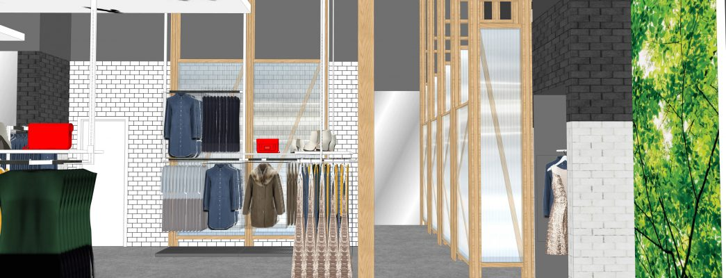 retail design floor space planning