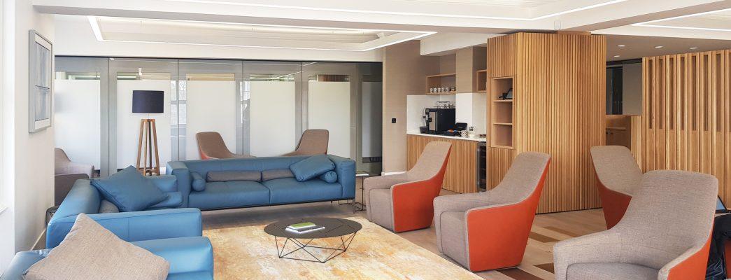 client space design interiors meeting space
